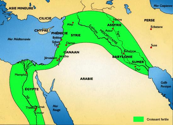 carte de la mésopotamie Mésopotamie | Le berceau des civilisations
