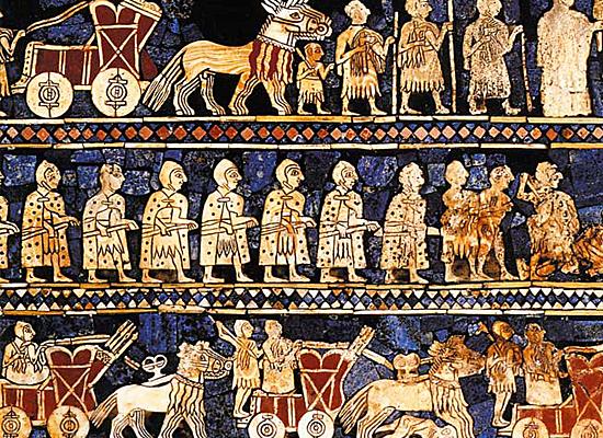 Histoire de la Mésopotamie | Bannière d'Ur | historyweb.fr histoire de la mésopotamie Histoire de la Mésopotamie historyweb histoire mesopotamie 3