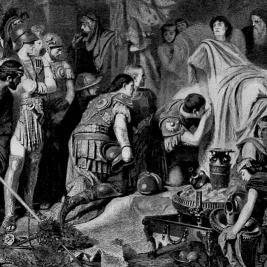 La mort d'Alexandre le Grand | Le site de l'Histoire | Historyweb  Mort d'Alexandre le Grand histoire historyweb mort alexandre le grand 2 267x267