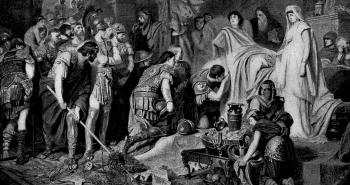 La mort d'Alexandre le Grand | Le site de l'Histoire | Historyweb bataille de gaugamèles La bataille de Gaugamèles | Alexandre le Grand histoire historyweb mort alexandre le grand 2 350x185