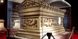 Tombeau dit d'Alexandre le Grand à istanbul mort d'alexandre le grand Mort d'Alexandre le Grand histoire historyweb tombeau alexandre istanbul 300x152