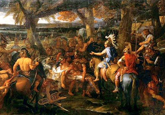 Site d'histoire | historyweb.fr | Bataille de l'Hydaspes  mort d'alexandre le grand Mort d'Alexandre le Grand site d histoire historyweb histoire bataille hydaspes