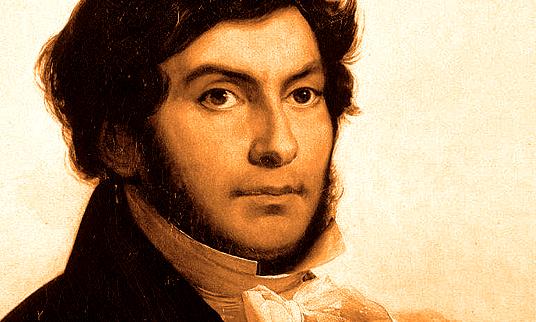 Portrait de Champollion | historyweb.fr  Mort d'Alexandre le Grand site d histoire historyweb histoire champollion