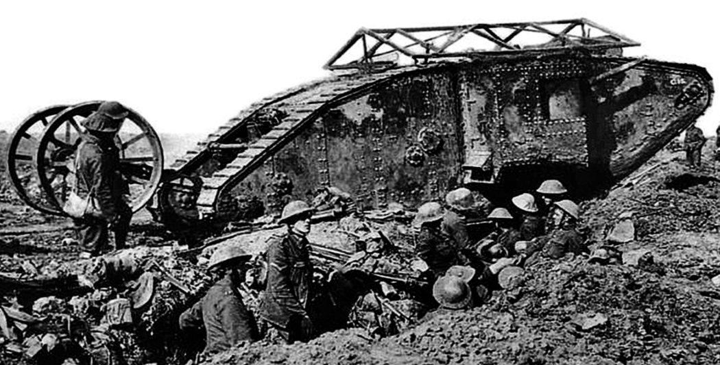 Bataille de la Somme 1919-2016 - Timbre de 2016