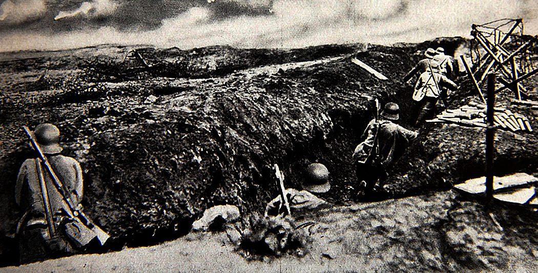 Bataille de Verdun | Soldats allemands en mouvement | historyweb.fr la bataille de verdun La bataille de Verdun bataille verdun premiere guerre mondiale site histoire historyweb 15