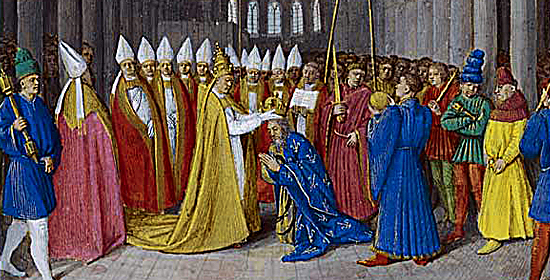 couronnement de Charlemagne | Site d'Histoire | Historyweb couronnement de Charlemagne Le couronnement de Charlemagne charlemagne 3 site histoire historyweb