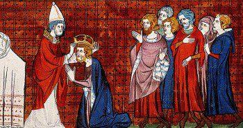 Couronnement de Charlemagne | Site d'Histoire | Historyweb.fr scandale de la tour de nesle Le scandale de la tour de Nesle charlemagne site histoire historyweb 350x185