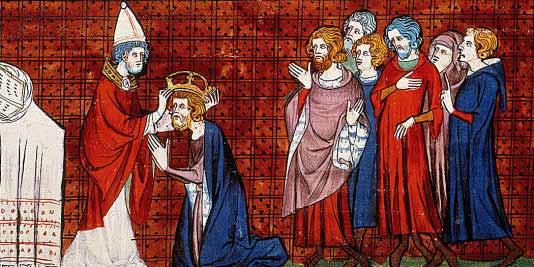 Couronnement de Charlemagne   Site d'Histoire   Historyweb.fr