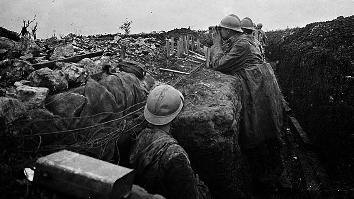 Chemin des dames premiere guerre mondiale site histoire for Site francais