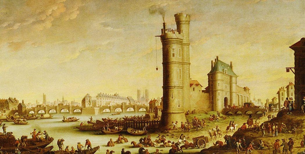 Tour de Nesle | historyweb.fr scandale de la tour de nesle Le scandale de la tour de Nesle tour de nesles site histoire historyweb