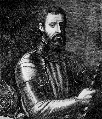 Giovanni da verrazano | historyweb.fr manhattan Les origines de Manhattan verrazano