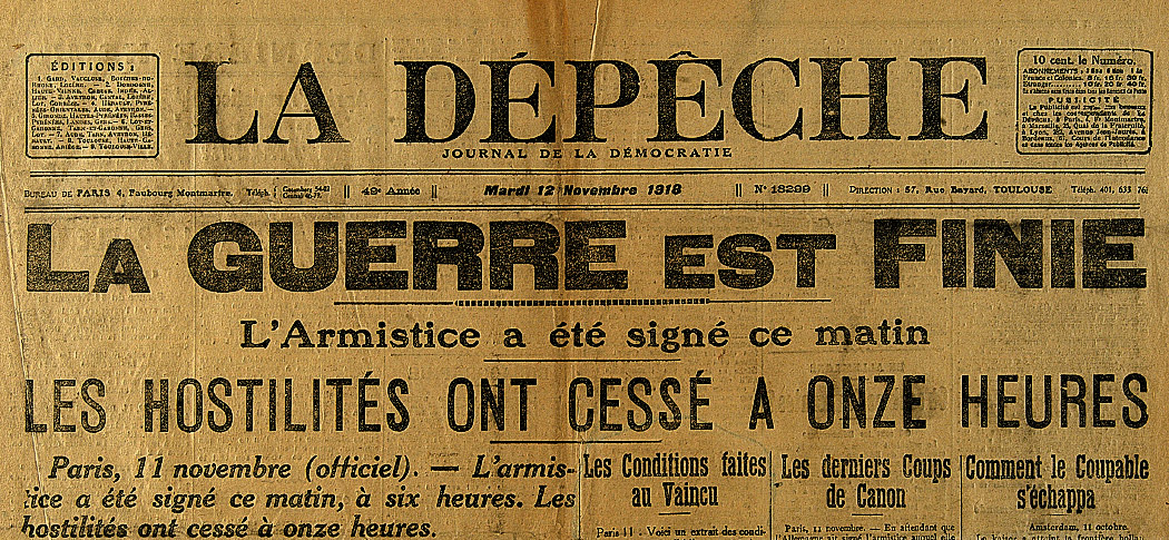 l armistice du 11 novembre 1918 le site de l 39 histoire. Black Bedroom Furniture Sets. Home Design Ideas