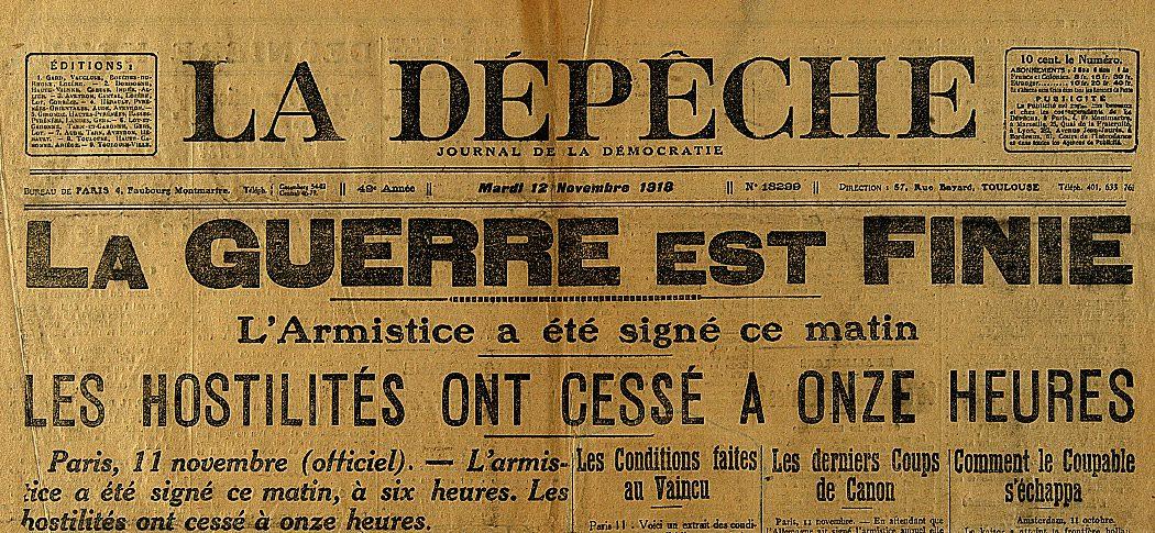 l 39 armistice du 11 novembre 1918 le site de l 39 histoire. Black Bedroom Furniture Sets. Home Design Ideas