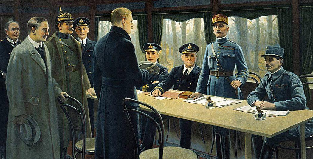 Signature de l'armistice du 11 novembre armistice du 11 novembre 1918 L'armistice du 11 novembre 1918 armistice du 11 novembre site histoire historyweb 1