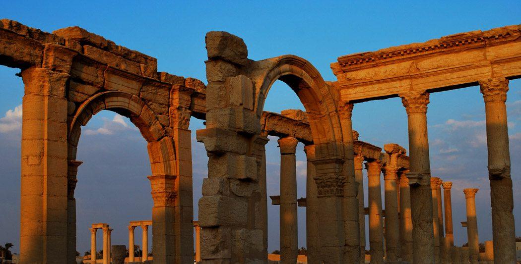 Palmyre |Syrie | Historyweb | Le site de l'Histoire -1  Palmyre, miracle archéologique en danger actualit   histoire historyweb 8