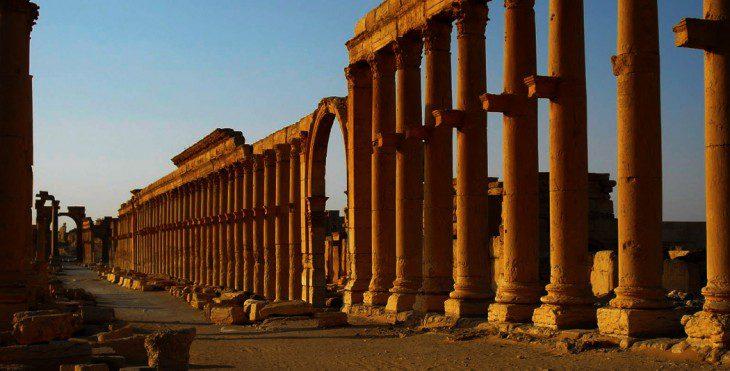 Palmyre |Syrie | Historyweb | Le site de l'Histoire -2 palmyre Palmyre, miracle archéologique en danger actualit   histoire historyweb 9 730x371