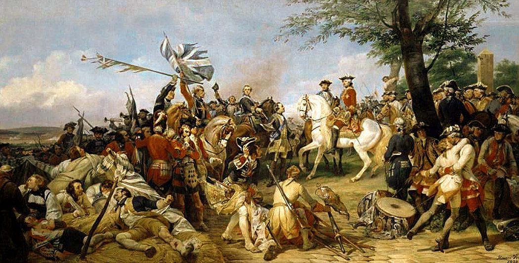La bataille de Fontenoy | Site de l'Histoire | Historyweb.fr bataille de fontenoy La bataille de Fontenoy bataille fontenoy historyweb 2