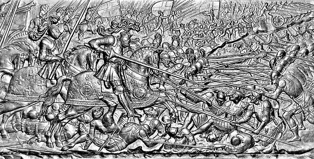 La bataille de Marignan | Le site de l'Histoire | Historyweb -2 bataille de marignan 1515 – La bataille de Marignan bataille marignan 2 histoire historyweb
