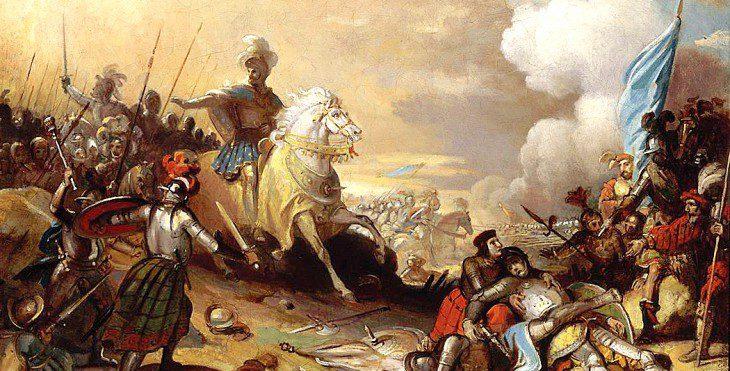 La bataille de Marignan | Le site de l'Histoire | Historyweb bataille de marignan 1515 – La bataille de Marignan bataille marignan histoire historyweb 730x371