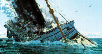 Le naufrage du Lusitania   Site d'histoire Historyweb armistice du 11 novembre 1918 L'armistice du 11 novembre 1918 naufrage lusitania histoire historyweb 1 350x185