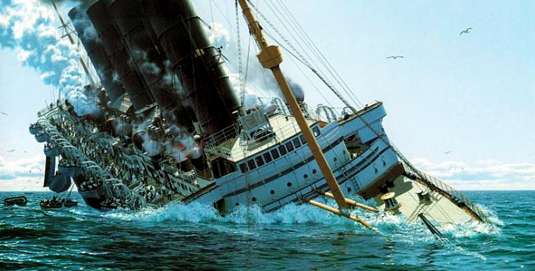 Le naufrage du Lusitania naufrage du lusitania Le naufrage du Lusitania naufrage lusitania histoire historyweb 11