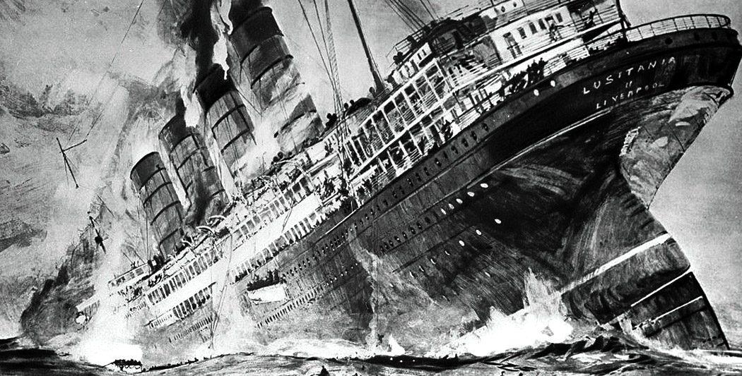 Le naufrage du Lusitania | Site d'histoire Historyweb -2 naufrage du lusitania Le naufrage du Lusitania naufrage lusitania histoire historyweb 2