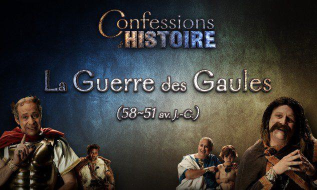 L'Histoire racontée par ceux qui l'ont vécue !  Confessions d'Histoire… à voir ! Vignette La Guerre des Gaules1 634x380 1