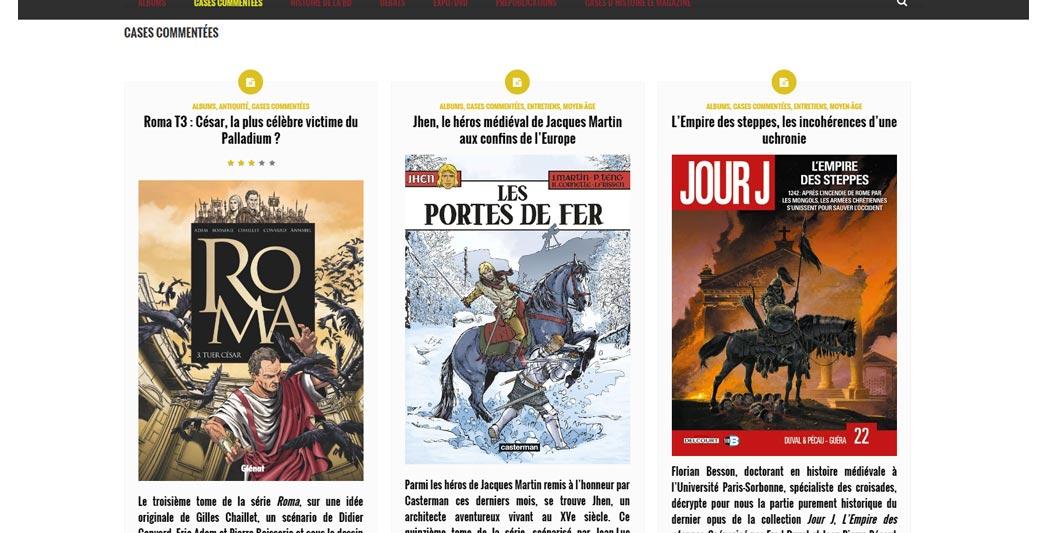 Cases d'Histoire   Le site de l'Histoire   Historyweb -2 cases d'histoire Cases d'histoire : l'Histoire en bulles... case histoire site histoire historyweb 2