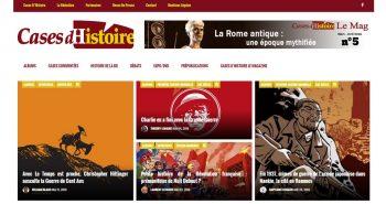 Cases d'Histoire | Le site de l'Histoire | Historyweb  Confessions d'Histoire… à voir ! cases histoire site histoire historyweb 1 350x185