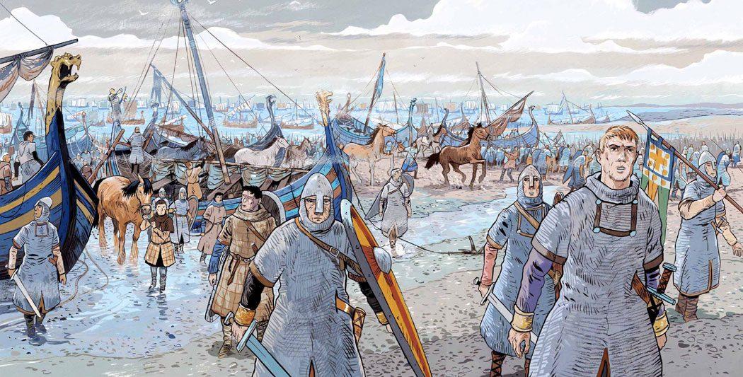 Bataille d'Hastings | Guillaume le Conquérant | Emmanuel Cerisier | Historyweb -2 bataille d'hastings La bataille d'Hastings guillaume le conquerant emmanuel cerisier historyweb 2