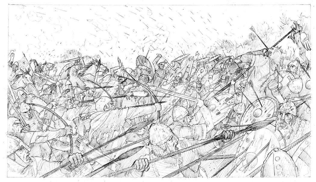 Bataille d'Hastings | Guillaume le Conquérant | Emmanuel Cerisier | Historyweb -5 bataille d'hastings La bataille d'Hastings guillaume le conquerant emmanuel cerisier historyweb 5