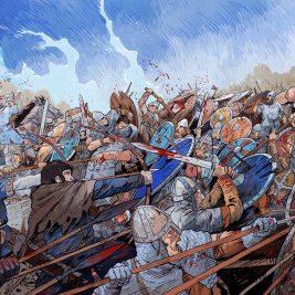 La bataille d'Hastings | Guillaume le Conquérant | Emmanuel Cerisier | Historyweb - 9 bataille d'hastings La bataille d'Hastings guillaume le conquerant emmanuel cerisier historyweb 7 267x267