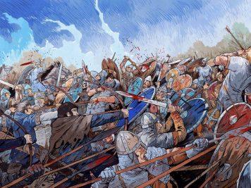 La bataille d'Hastings | Guillaume le Conquérant | Emmanuel Cerisier | Historyweb - 9 bataille d'hastings La bataille d'Hastings guillaume le conquerant emmanuel cerisier historyweb 7 356x267