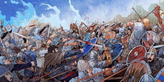La bataille d'Hastings | Guillaume le Conquérant | Emmanuel Cerisier | Historyweb - 9 bataille d'hastings La bataille d'Hastings guillaume le conquerant emmanuel cerisier historyweb 7 534x267