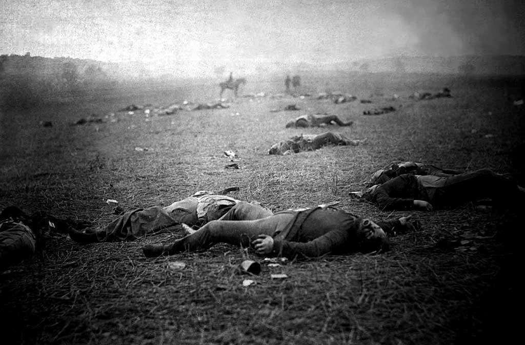 La bataille de Gettysburg | Site d'Histoire | Historyweb -12 la bataille de gettysburg LA BATAILLE DE GETTYSBURG bataille gettysburg historyweb 1