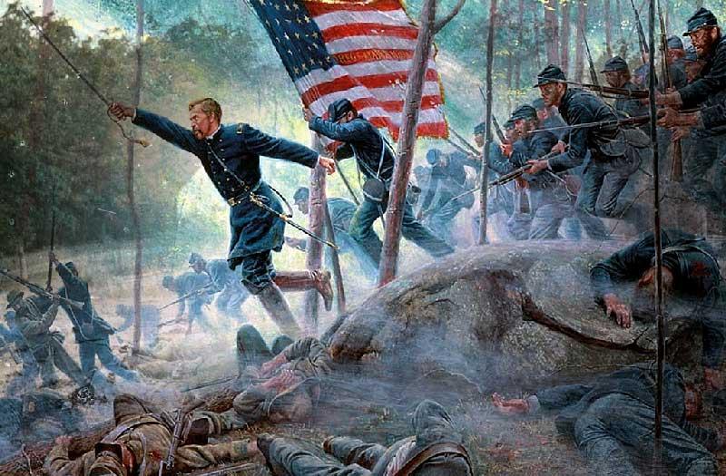 La bataille de Gettysburg | Site d'Histoire | Historyweb -7 la bataille de gettysburg LA BATAILLE DE GETTYSBURG bataille gettysburg historyweb 7