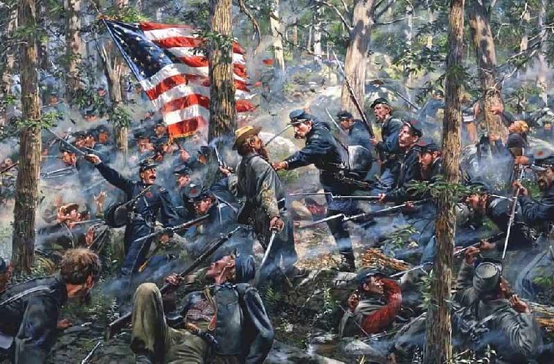 La bataille de Gettysburg la bataille de gettysburg LA BATAILLE DE GETTYSBURG bataille gettysburg historyweb 8 1