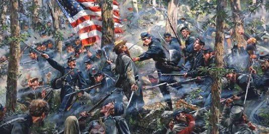 Bataille de Gettysburg | Site d'Histoire | Historyweb -6 la bataille de gettysburg LA BATAILLE DE GETTYSBURG bataille gettysburg historyweb 8 534x267
