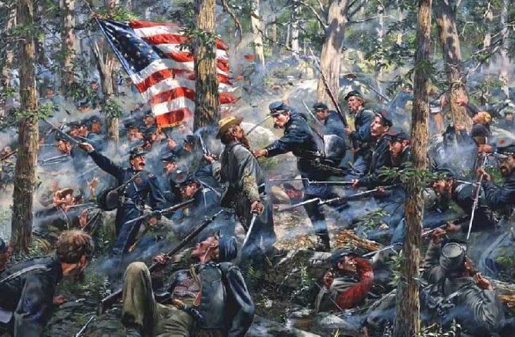 Bataille de Gettysburg | Site d'Histoire | Historyweb -6 la bataille de gettysburg LA BATAILLE DE GETTYSBURG bataille gettysburg historyweb 8 730x479