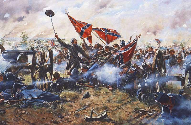 La bataille de Gettysburg | Site d'Histoire | Historyweb -5 la bataille de gettysburg LA BATAILLE DE GETTYSBURG bataille gettysburg historyweb 9