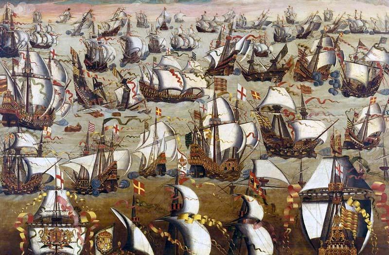 L'Invincible Armada | Le site de l'Histoire | Historyweb l'invincible armada L'invincible armada et la bataille de Gravelines invincible armada historyweb