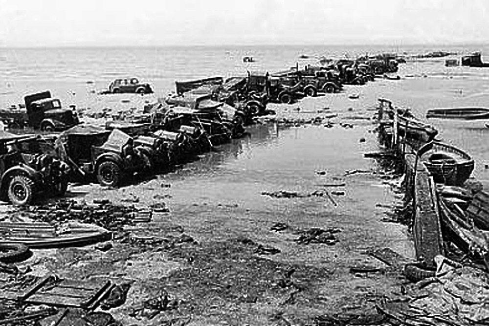La plage après la bataille | Bataille de Dunkerque | Le site de l'Histoire Historyweb - 36 Opération Dynamo L'opération Dynamo en images operation dynamo bataille dunkerque 10