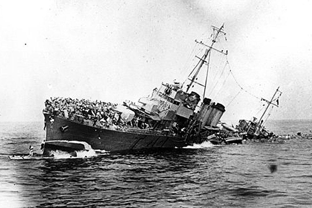 Navire britannique | Bataille de Dunkerque | Le site de l'Histoire Historyweb - 31 Opération Dynamo L'opération Dynamo en images operation dynamo bataille dunkerque 15