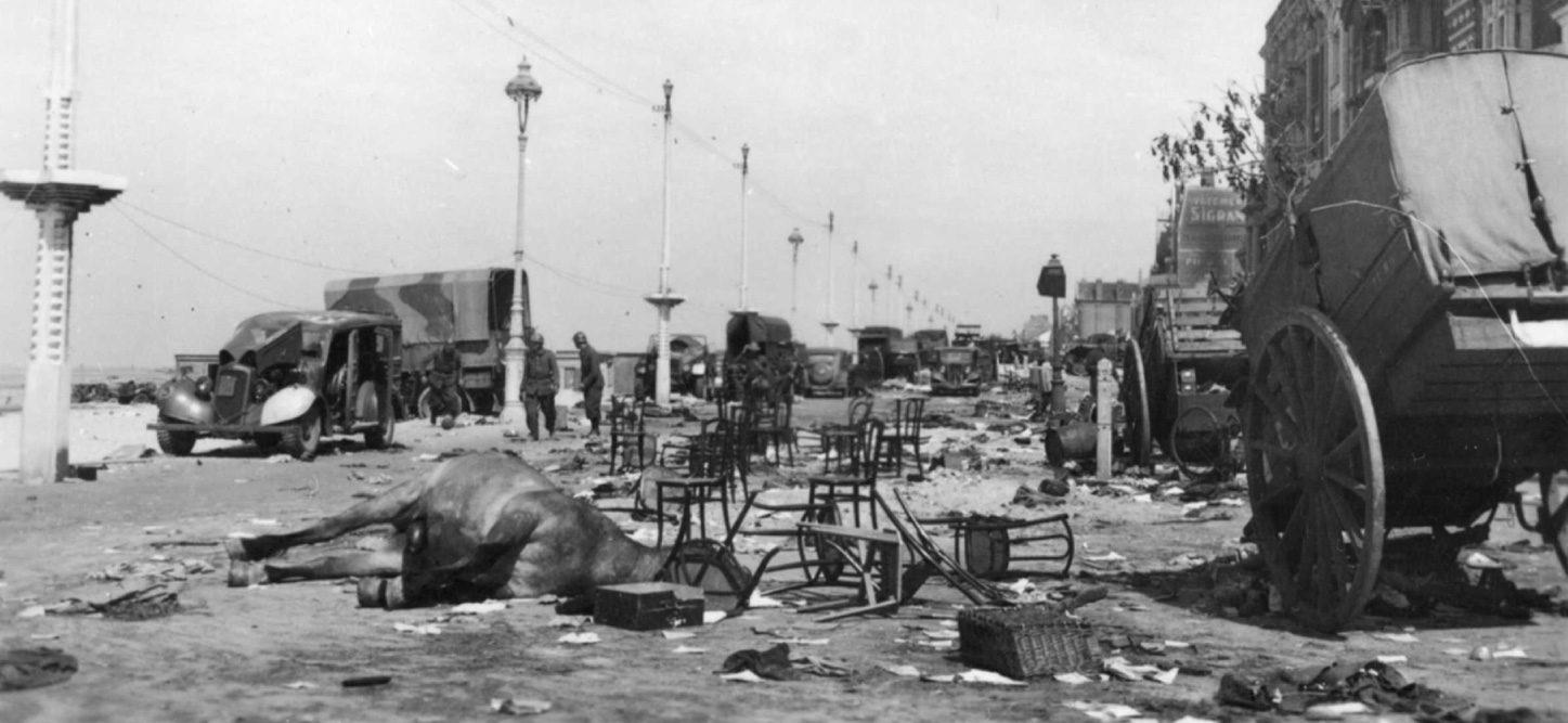 Près de la plage | Bataille de Dunkerque | Le site de l'Histoire Historyweb - 29 Opération Dynamo L'opération Dynamo en images operation dynamo bataille dunkerque 17