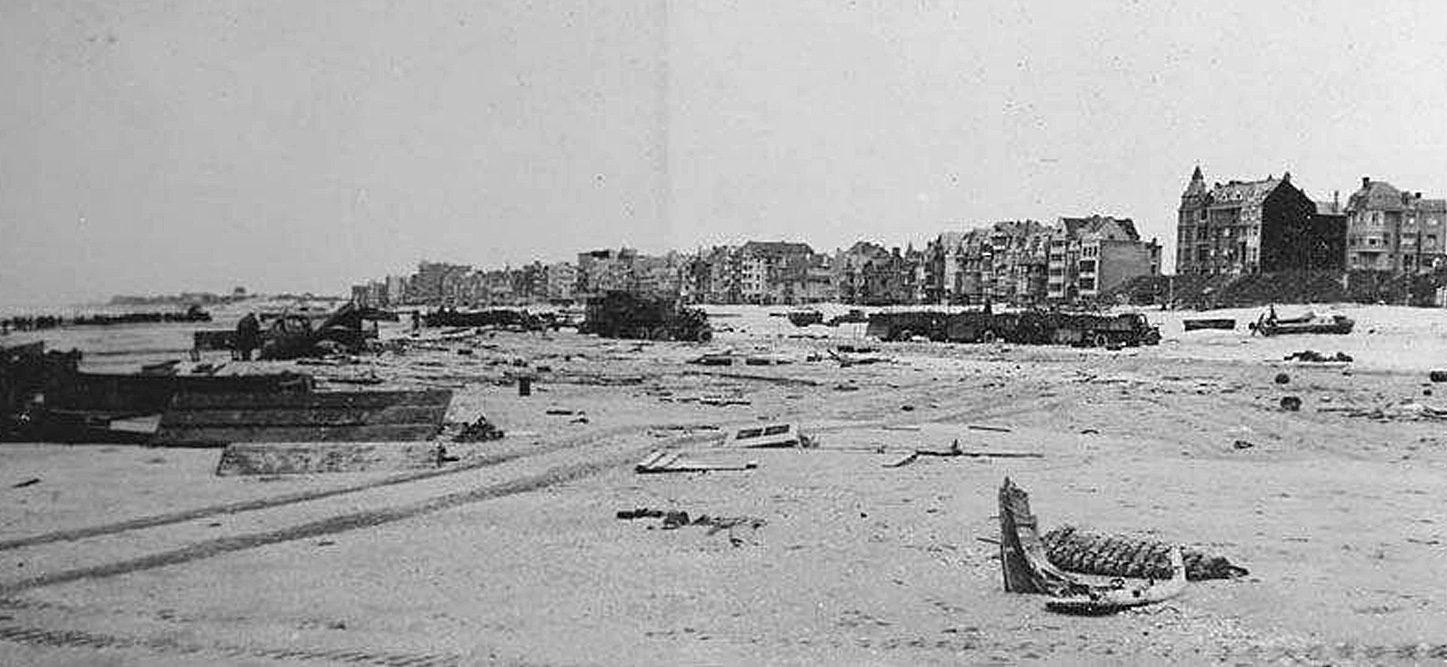 Plage de Dunkerque après la bataille | Bataille de Dunkerque | Le site de l'Histoire Historyweb - 28 Opération Dynamo L'opération Dynamo en images operation dynamo bataille dunkerque 18