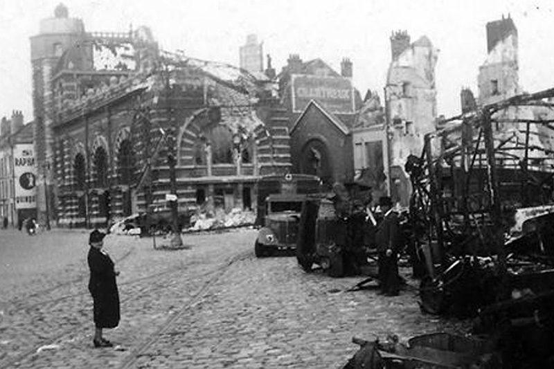 La ville de Dunkerque | Bataille de Dunkerque | Le site de l'Histoire Historyweb - 38 Opération Dynamo L'opération Dynamo en images operation dynamo bataille dunkerque 8