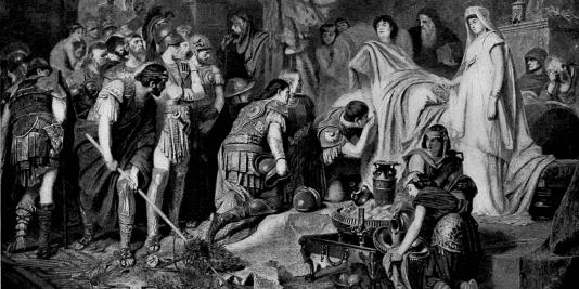 La mort d'Alexandre le Grand | Le site de l'Histoire | Historyweb  Mort d'Alexandre le Grand histoire historyweb mort alexandre le grand 2 534x267