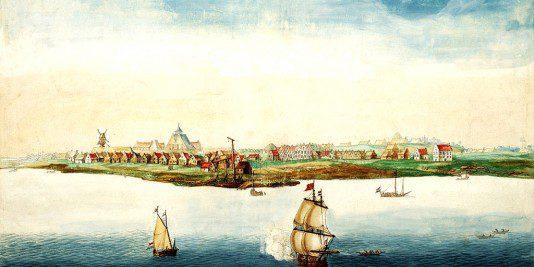 Manhattan en 1664 | historyweb.fr manhattan Les origines de Manhattan Manhattan historyweb