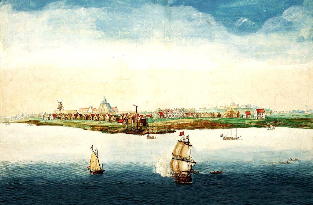 Manhattan en 1664   historyweb.fr manhattan Les origines de Manhattan Manhattan historyweb