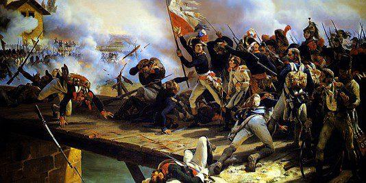 La bataille du pont d'Arcole   Site de l'Histoire   historyweb bataille du pont d'arcole La bataille du pont d'Arcole bataille arcole site histoire historyweb 5 534x267